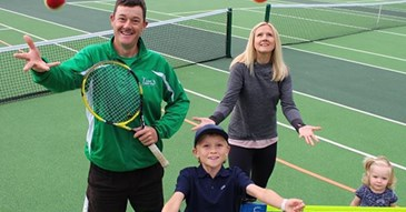 Serving up tennis for free in Exeter