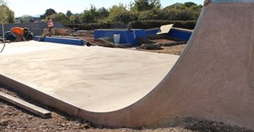 New Skate Park Progressing Well