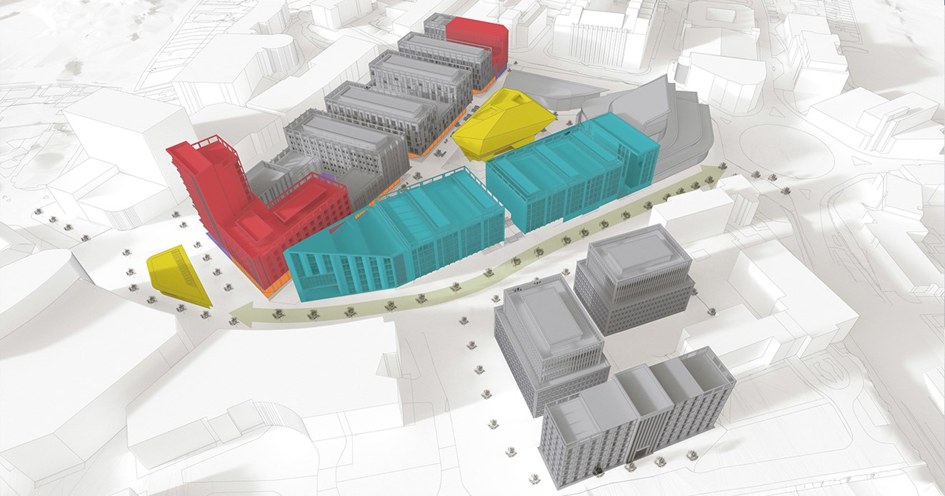 How the new redevelopment could look