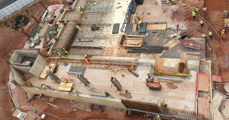 Exeter Bus Station Progress