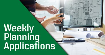 Weekly Planning Applications