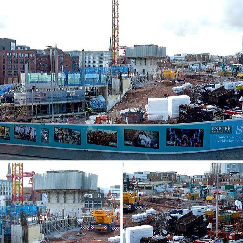 Bus Station and Leisure Centre Update Montage