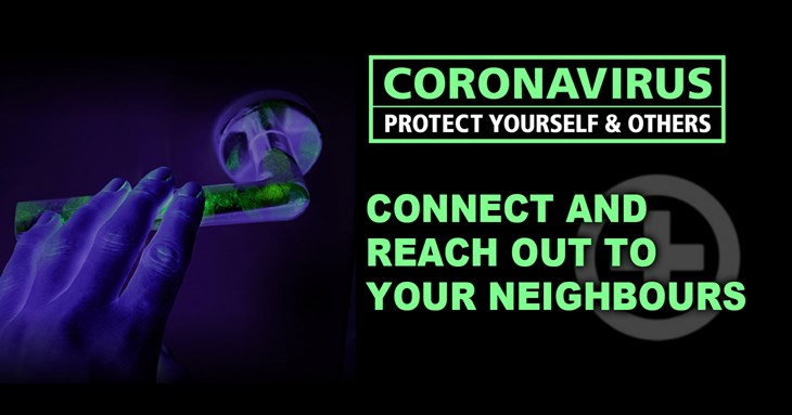 Connect and reach out to your neighbours