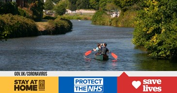 Recreational use of the River Exe and canal must stop
