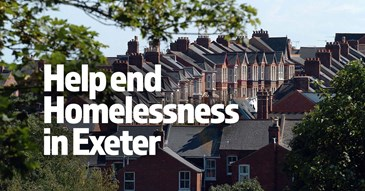 Help end Homelessness in Exeter